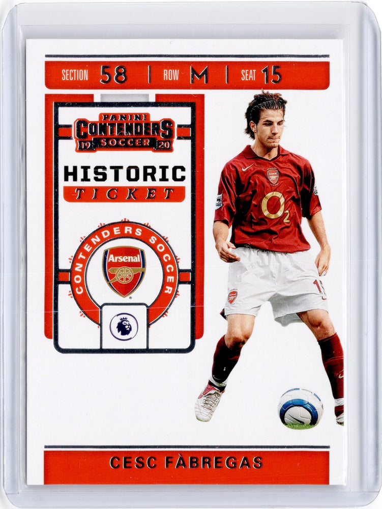 2019-20 Chronicles Soccer CESC FABREGAS Historic Rookie Ticket #6-Cherry Collectables