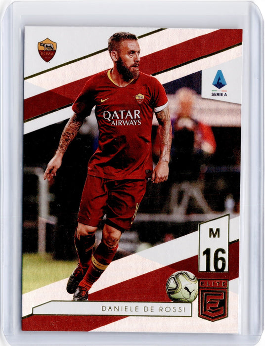 2019-20 Chronicles Soccer DANIELE DE ROSSI Elite #37-Cherry Collectables