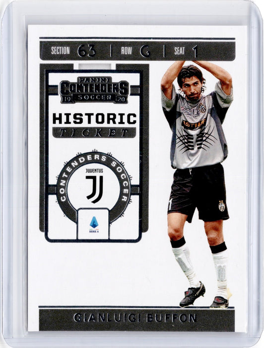 2019-20 Chronicles Soccer GIANLUIGI BUFFON Historic Rookie Ticket #8-Cherry Collectables