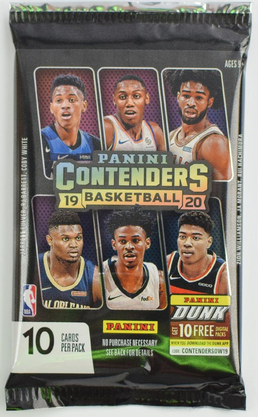 2019-20 Panini Contenders Basketball Hobby Pack-Cherry Collectables