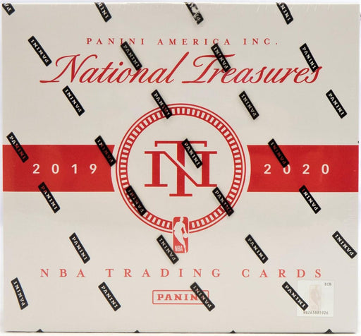 2019-20 Panini National Treasures Basketball Hobby Box-Cherry Collectables