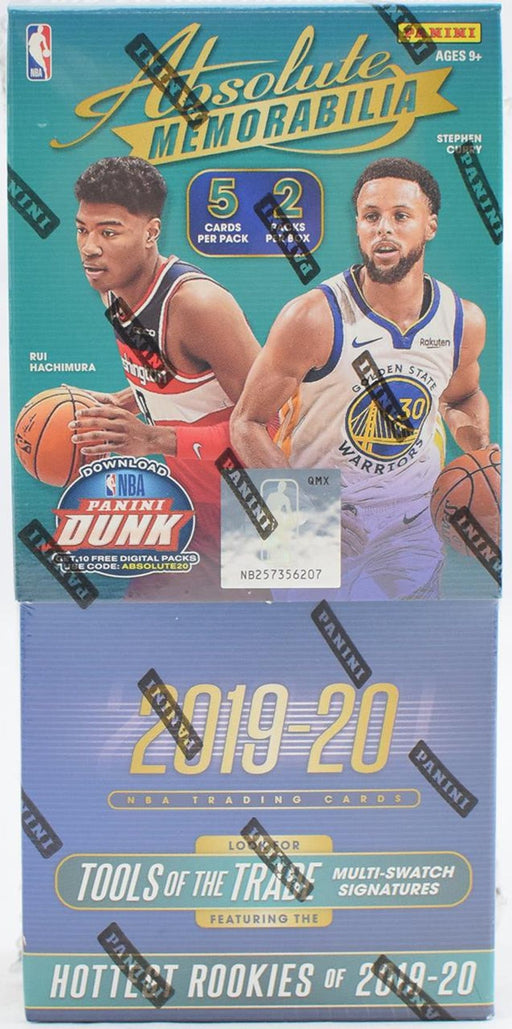 2019-20 Panini Absolute Basketball Hobby Box-Cherry Collectables