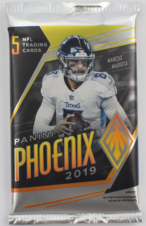 2019 Panini Phoenix Football Hobby Pack-Cherry Collectables