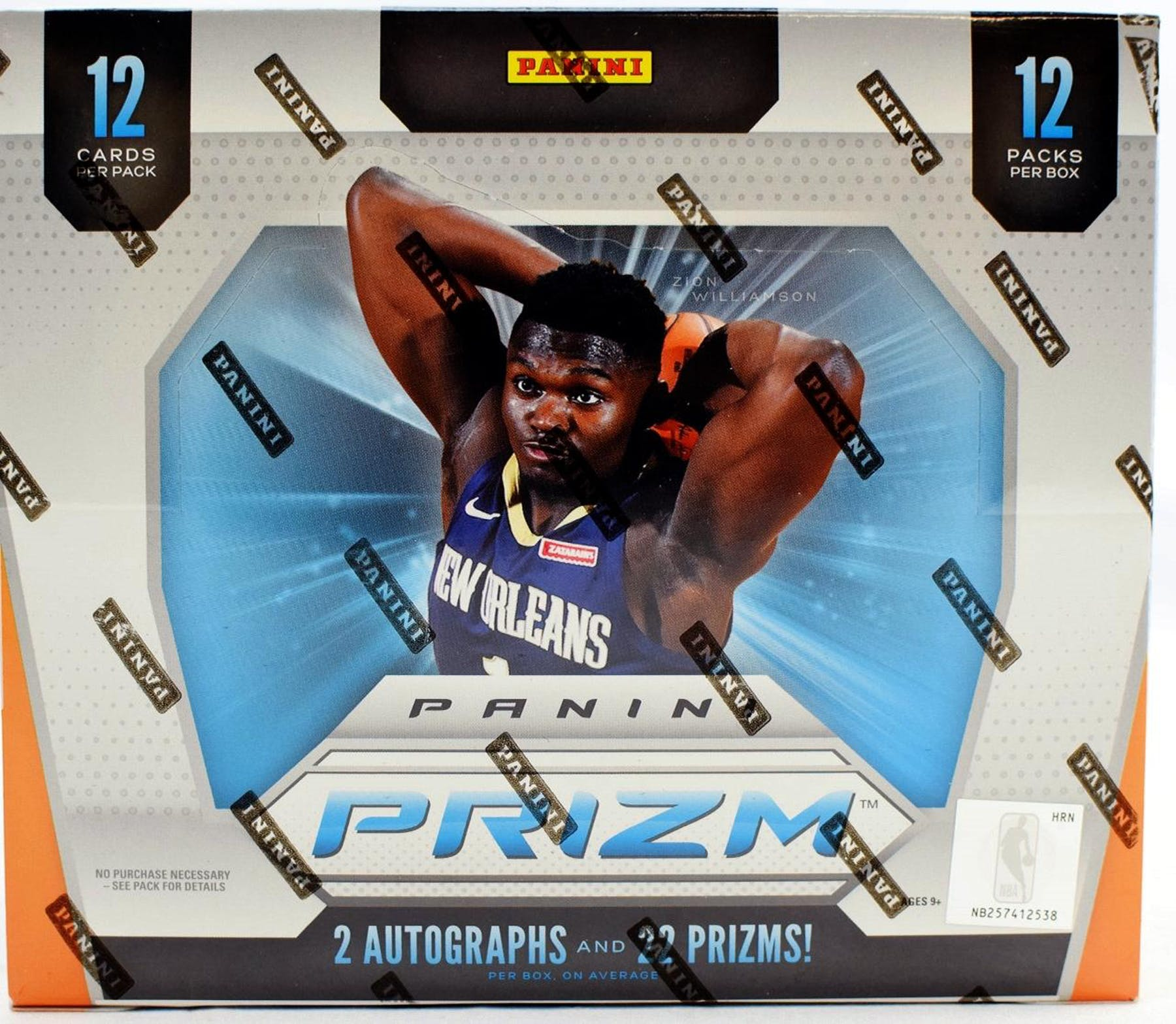 2019-20 Panini Prizm Basketball Hobby Box-Cherry Collectables