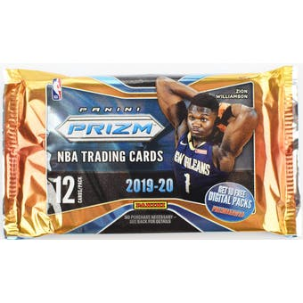 2019-20 Panini Prizm Basketball Hobby Pack-Cherry Collectables