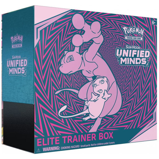 Pokemon TCG Sun & Moon Unified Minds Elite Trainer Box-Cherry Collectables