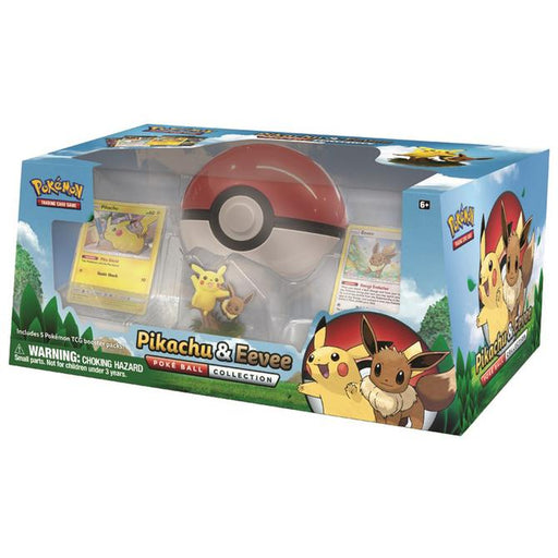 Pokemon TCG Pikachu & Eevee Poke Ball Collection-Cherry Collectables