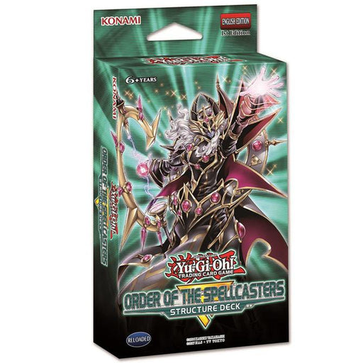 Yu-Gi-Oh! Order of the Spellcasters Structure Deck (Pre Order Apr 25)-Cherry Collectables