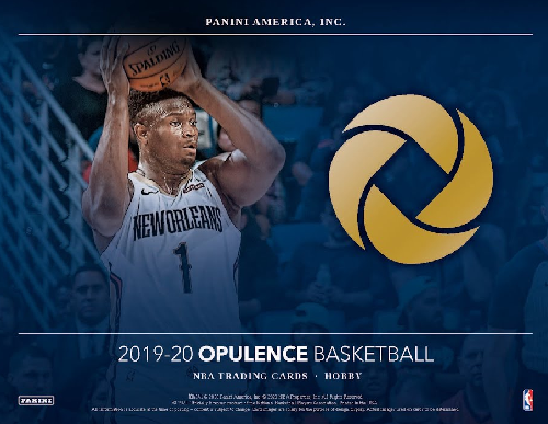 19-20 Opulence NBA 1-Box Break #0904 - Random Team - Sep 21 (Night)-Cherry Collectables