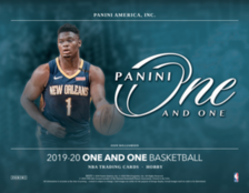 19-20 One and One NBA 1-Box Break #2414 - Random Team - Mar 03 (1pm)-Cherry Collectables
