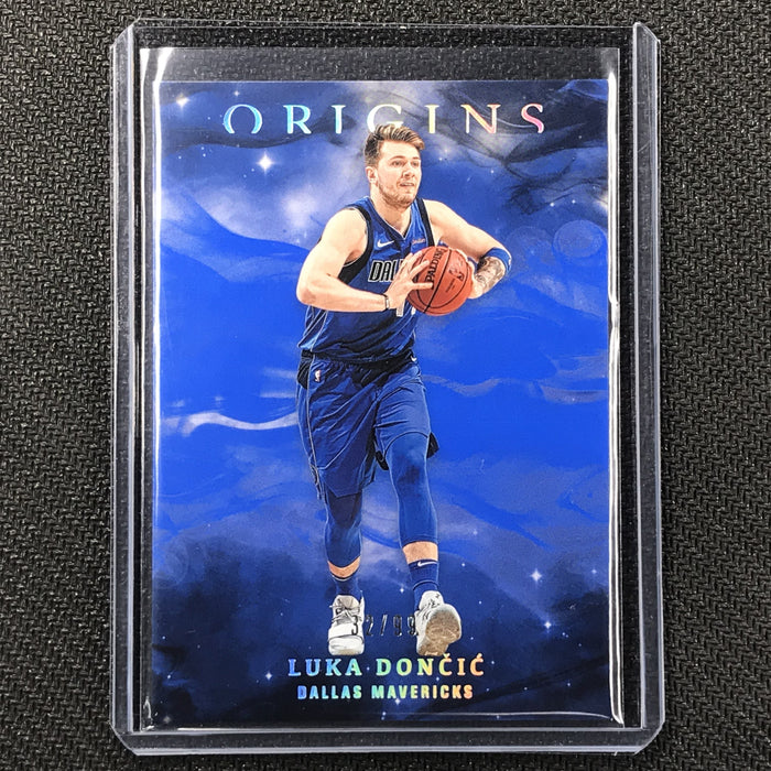 2019-20 Origins LUKA DONCIC Blue 32/99-Cherry Collectables