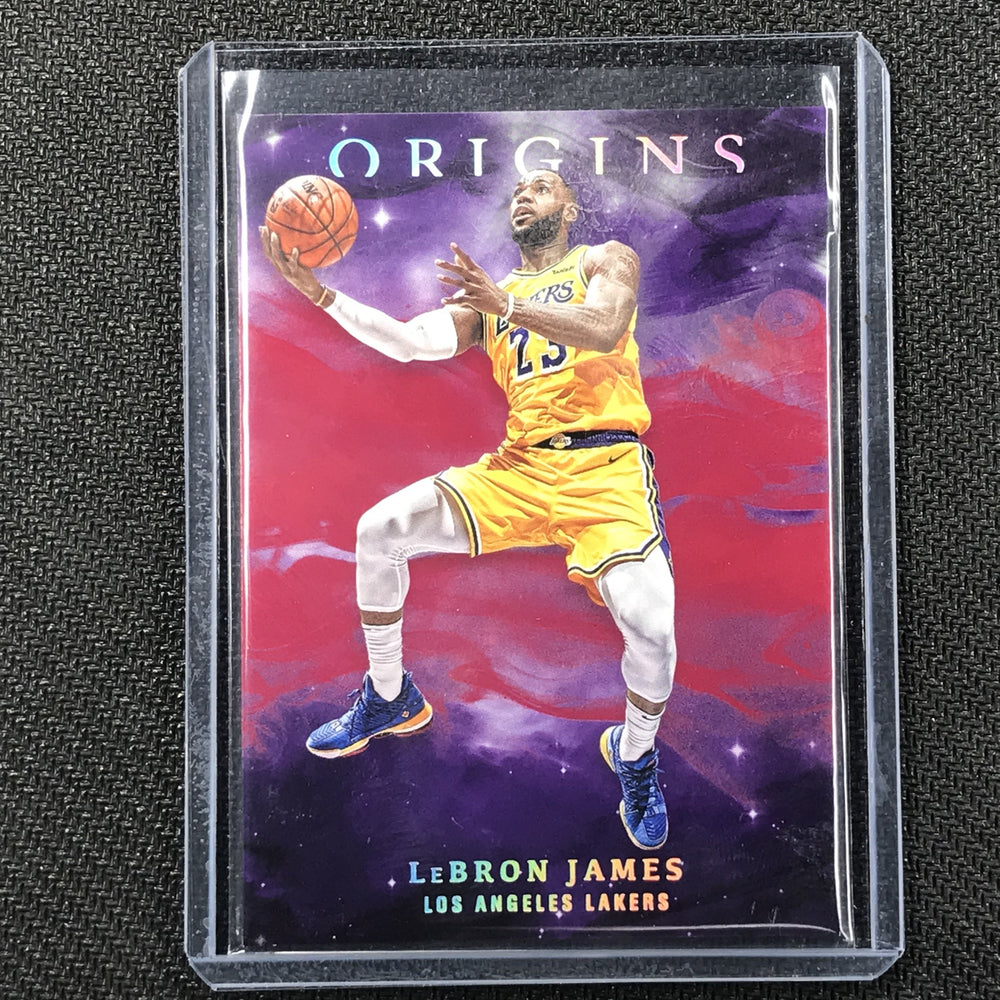 2019-20 Origins LEBRON JAMES Red Base Holo #83-Cherry Collectables