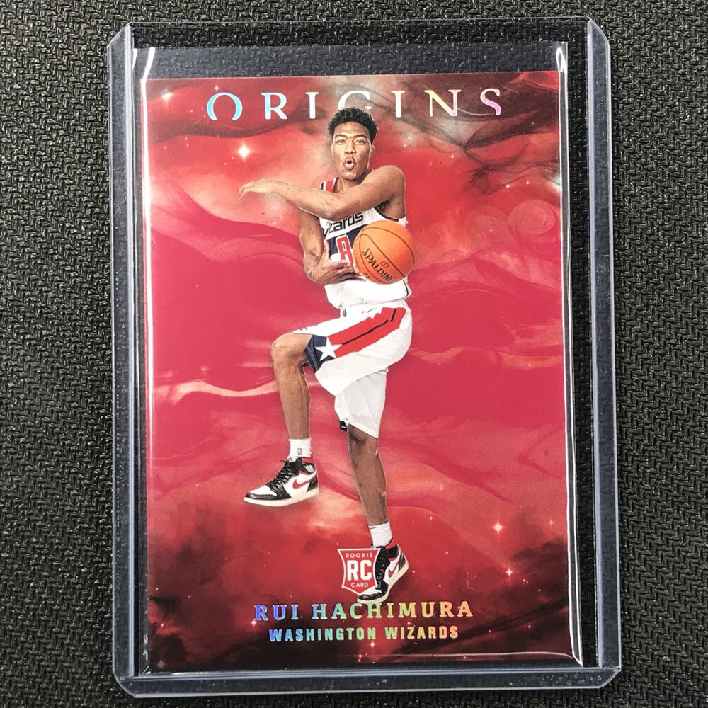 2019-20 Origins RUI HACHIMURA Red Rookie Base Holo #82 #1-Cherry Collectables