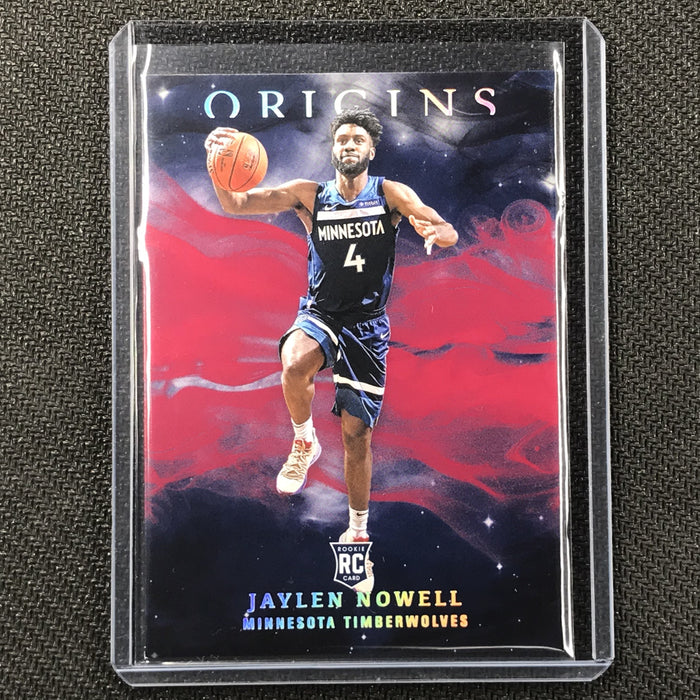 2019-20 Origins JAYLEN NOWELL Red Rookie Base Holo #86-Cherry Collectables