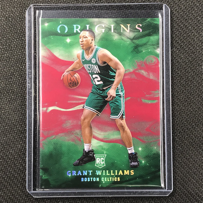 2019-20 Origins GRANT WILLIAMS Red Rookie Base Holo #90-Cherry Collectables