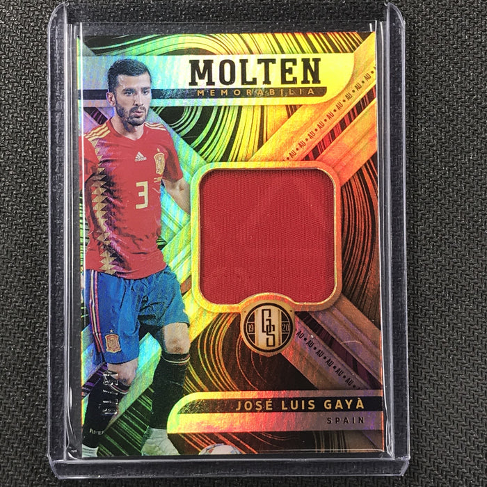 2019-20 Gold Standard Soccer JOSE LUIS GAYA Molten Relic Patch 45/79-Cherry Collectables