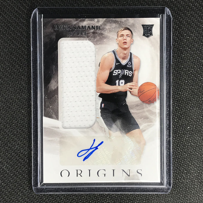 2019-20 Origins LUKA SAMANIC Rookie Jersey Autographs #151 #1-Cherry Collectables