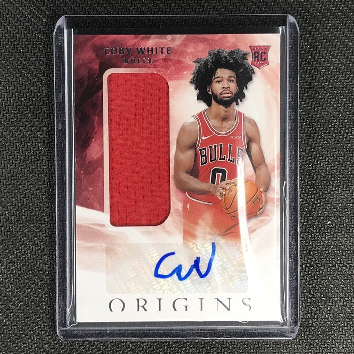 2019-20 Origins COBY WHITE Rookie Jersey Autographs #155 #2-Cherry Collectables