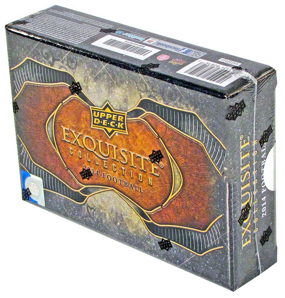 2014 Upper Deck Exquisite Football Hobby Box-Cherry Collectables