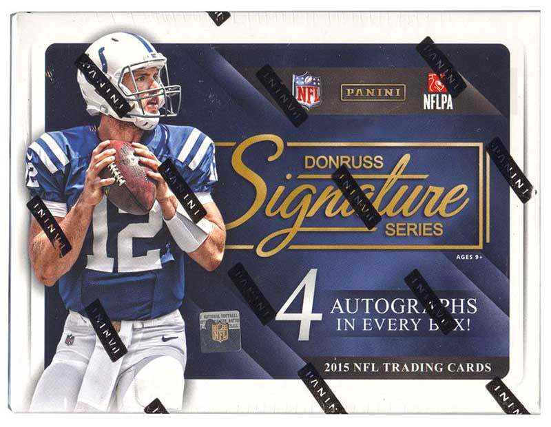 2015 Donruss Signature Series Football Hobby Box-Cherry Collectables