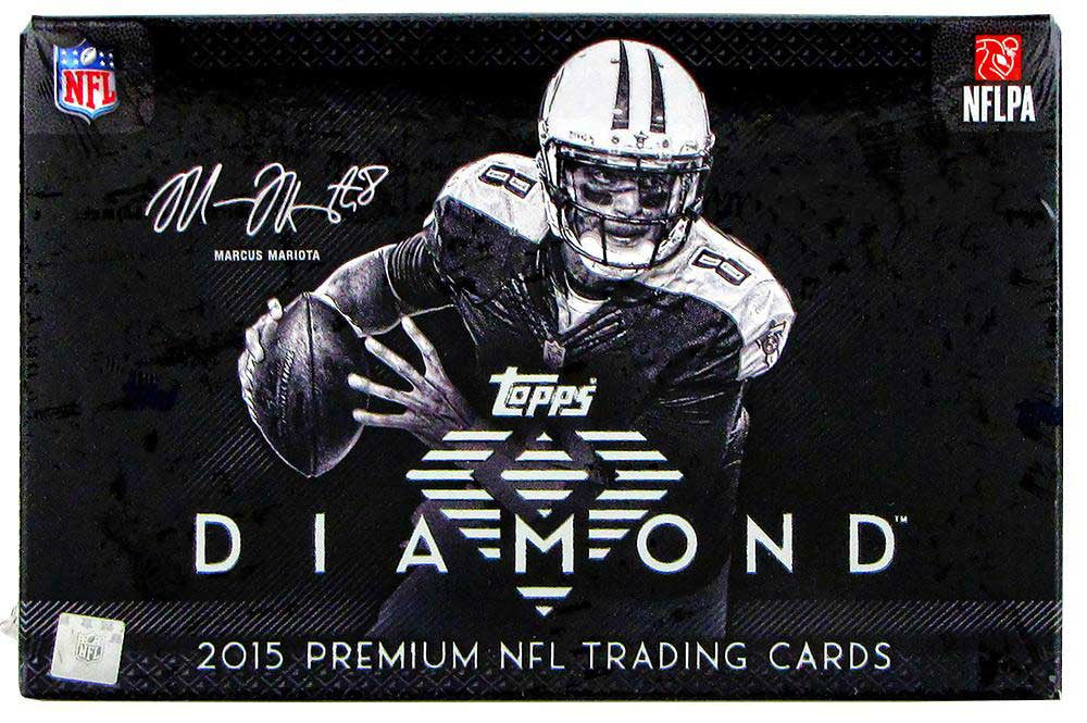 2015 Topps Diamond Football Hobby Box-Cherry Collectables