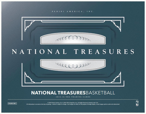 2015-16 Panini National Treasures Basketball Hobby Box-Cherry Collectables
