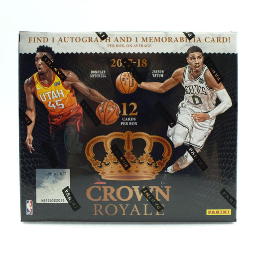 2017-18 Crown Royale Basketball Hobby Box-Cherry Collectables