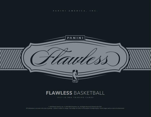 2017-18 Panini Flawless Basketball Hobby Box-Cherry Collectables