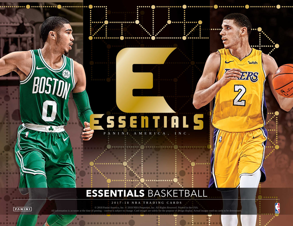 2017-18 Panini Essentials Basketball Hobby Pack-Cherry Collectables