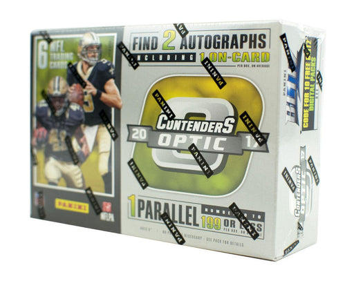 2017 Panini Contenders Optic Football Hobby Box-Cherry Collectables
