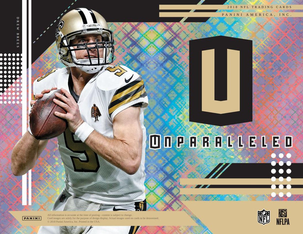 2018 Panini Unparalleled Football Hobby Pack-Cherry Collectables