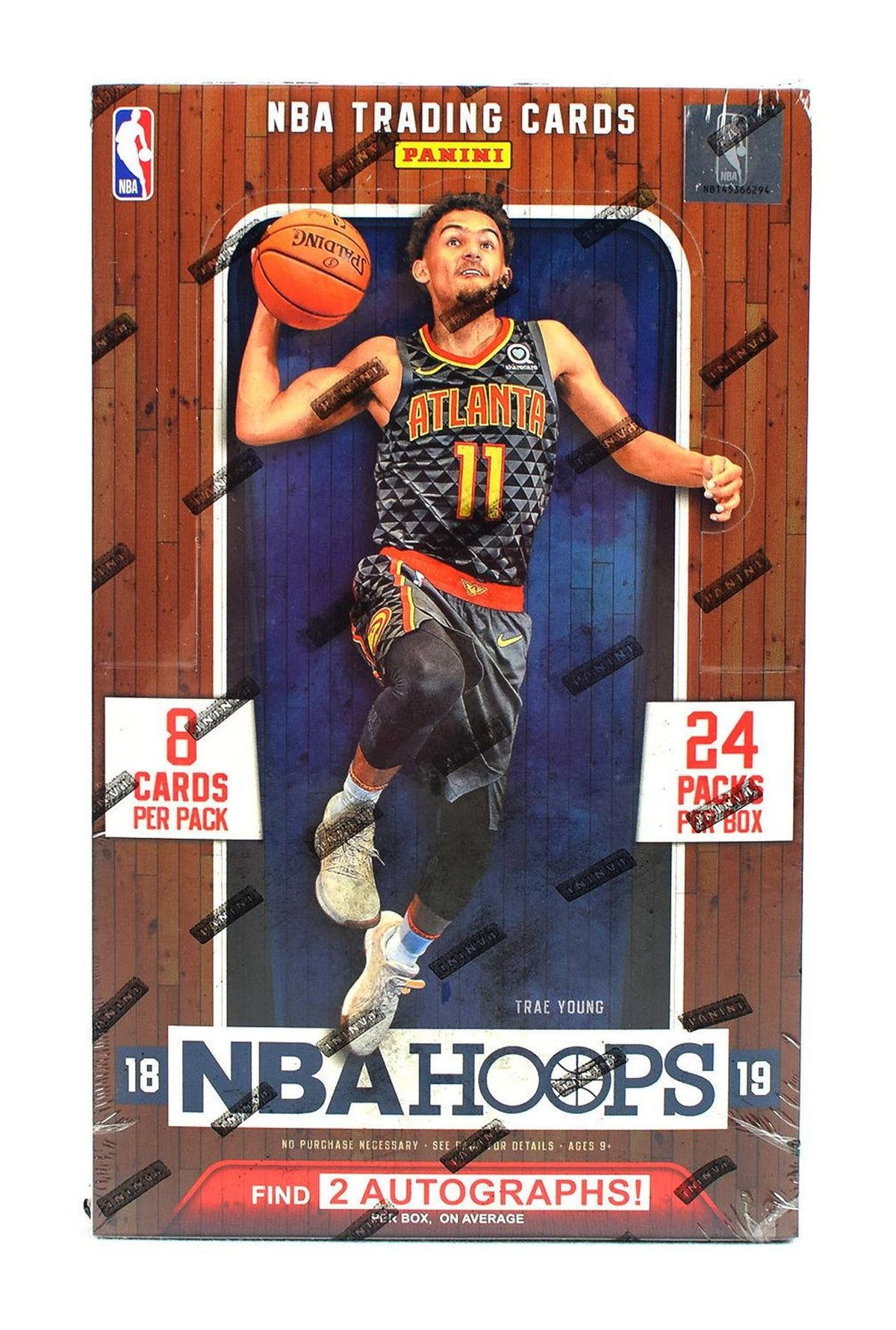 2018 19 Nba Hoops Basketball Hobby Box