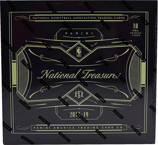 2018-19 Panini National Treasures Basketball Hobby Box-Cherry Collectables