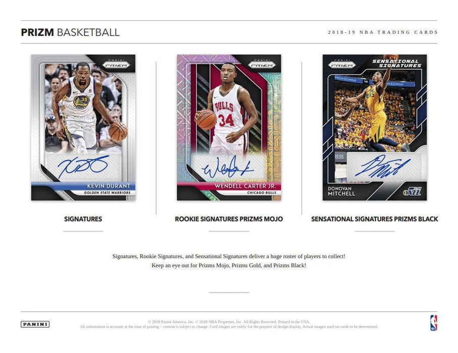 2018-19 Panini Prizm Basketball Hobby Box (Pre Order Nov 21)-Cherry Collectables