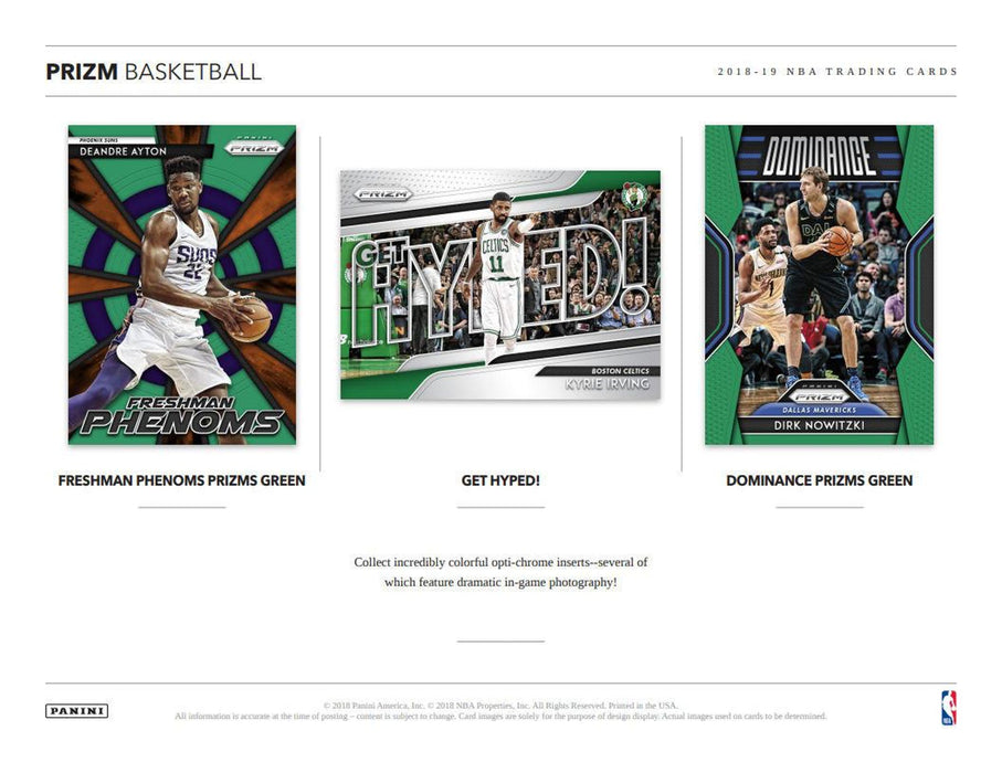 2018-19 Panini Prizm Basketball Retail Blaster 11-Pack Box (Pre Order Nov 18)-Cherry Collectables
