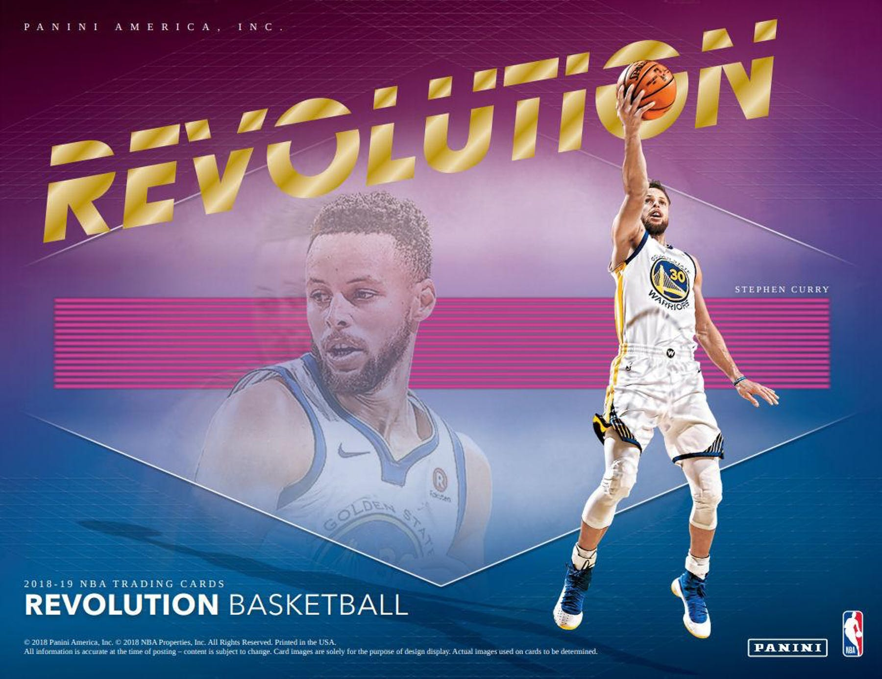 2018-19 Panini Revolution Basketball Hobby 8-Box Case (Pre Order Dec 14)-Cherry Collectables