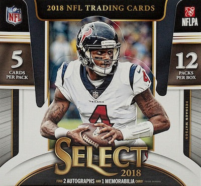 2018 Panini Select Football Hobby Box-Cherry Collectables