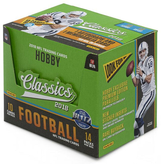 2018 Panini Classics Football Hobby Box-Cherry Collectables