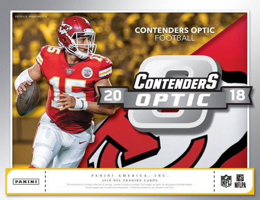 487e758aa24 2018 Panini Contenders Optic Football Hobby Box-Cherry Collectables