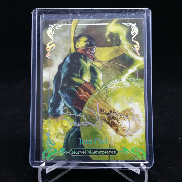 2018 Marvel Masterpieces IRON FIST Tier 2 #44 Simone Bianchi Autograph 2/10-Cherry Collectables