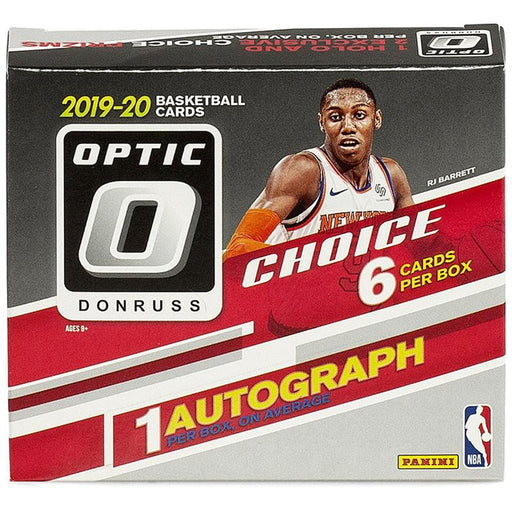 2019-20 Panini Donruss Optic Choice Basketball Hobby Box-Cherry Collectables