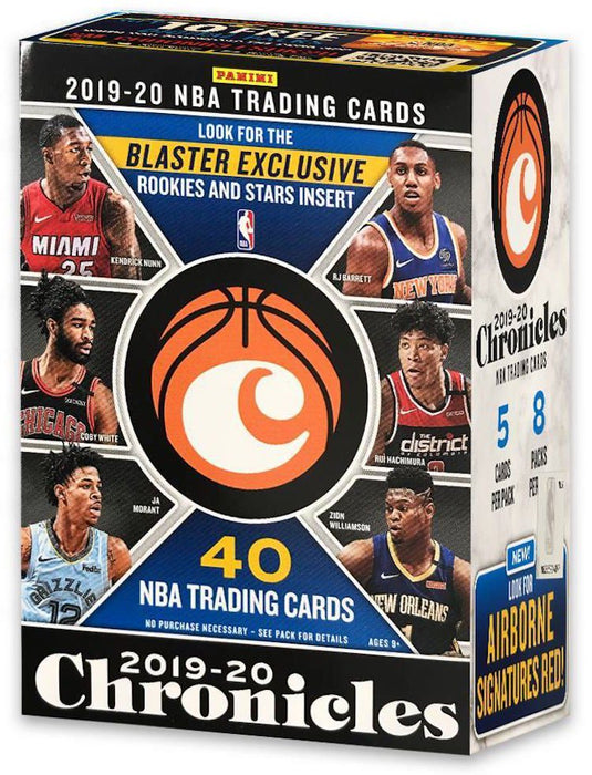 2019-20 Panini Chronicles Basketball Blaster Box-Cherry Collectables