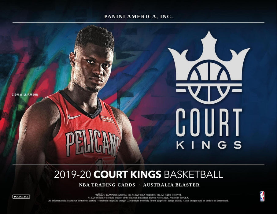19-20 Panini Court Kings NBA Blaster 20-Box Case Break #0158 - Random Team - Jun 22 (Night)-Cherry Collectables
