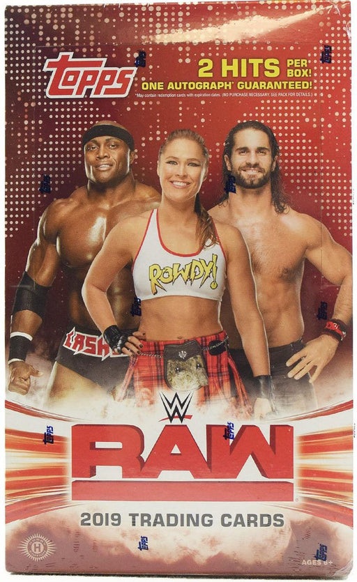 2019 Topps WWE Raw Wrestling Hobby Box-Cherry Collectables