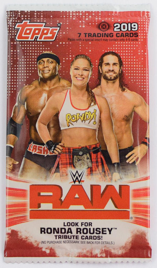2019 Topps WWE Raw Wrestling Hobby Pack-Cherry Collectables