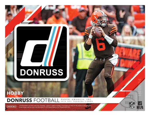 2019 Panini Donruss Football Hobby Pack-Cherry Collectables