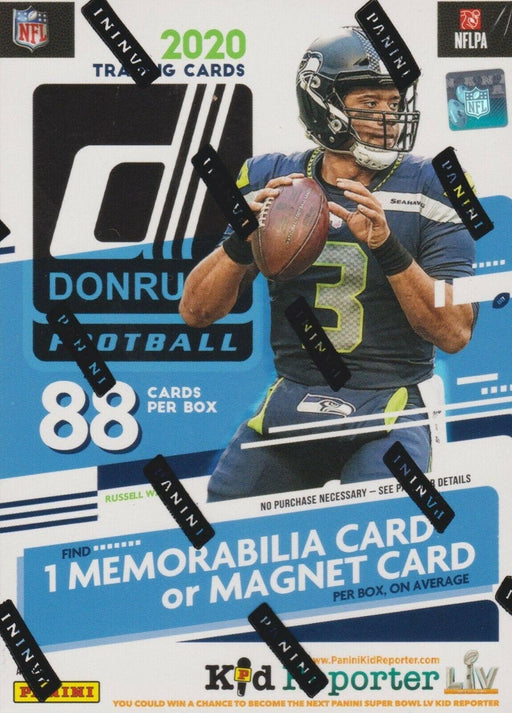 2020 Panini Donruss Football Blaster Box-Cherry Collectables
