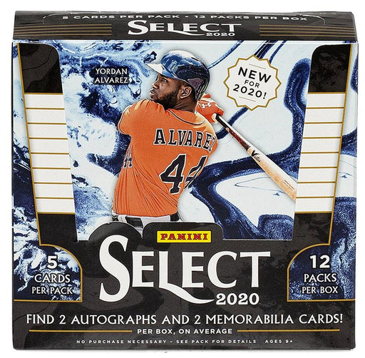 2020 Panini Select Baseball Hobby Box-Cherry Collectables