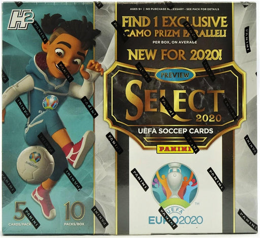 2019-20 Panini Select UEFA EURO Soccer Hobby Hybrid Box-Cherry Collectables