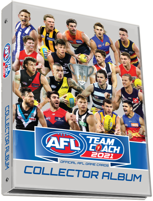 2021 AFL TeamCoach Collector Album-Cherry Collectables